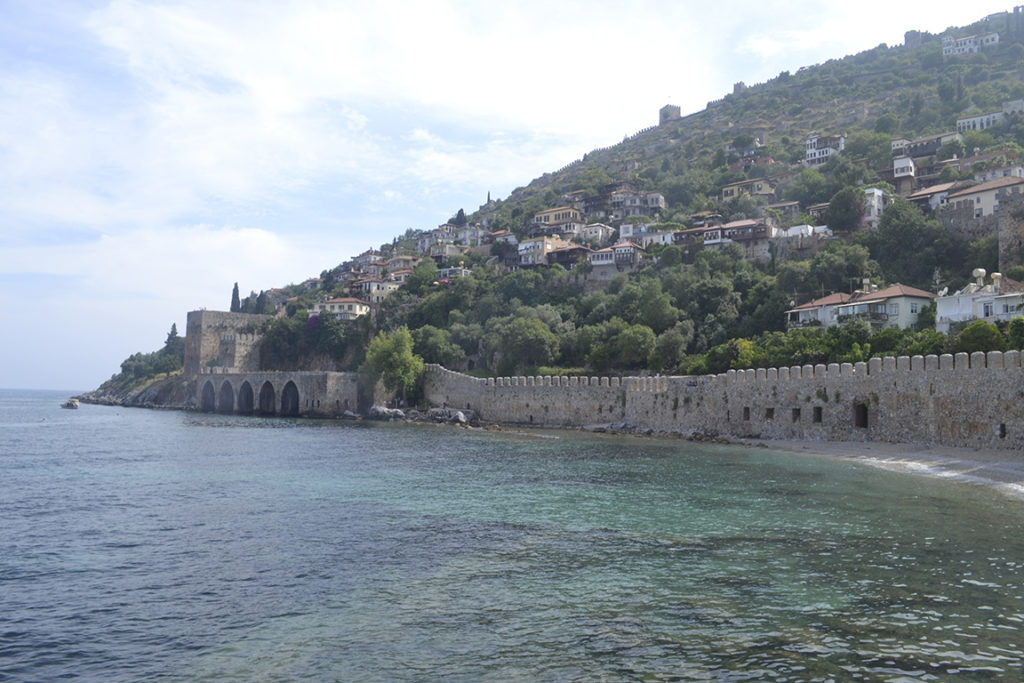 Вид на крепость