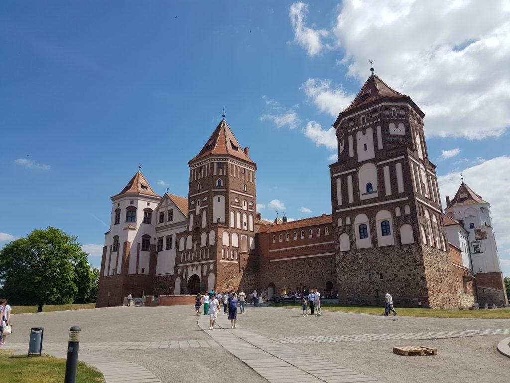 Замковый комплекс Мир. Беларусь