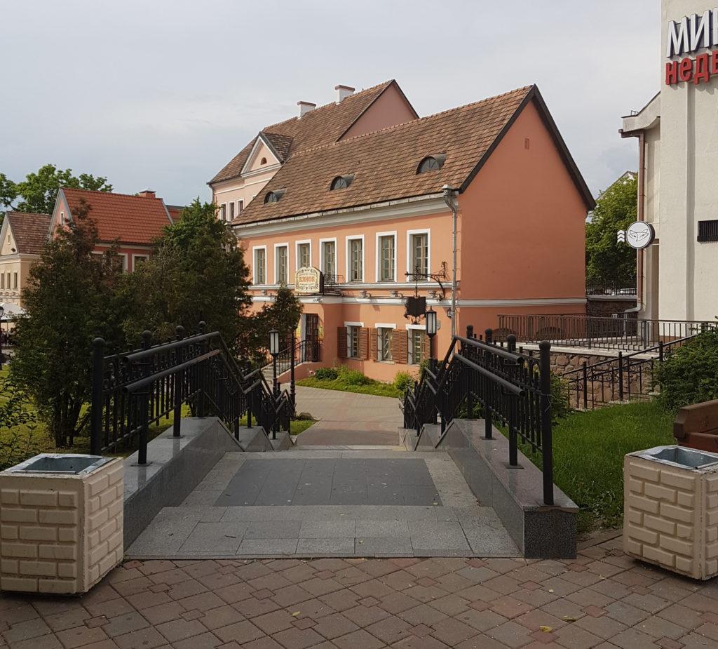 Троицкое предместье Минск