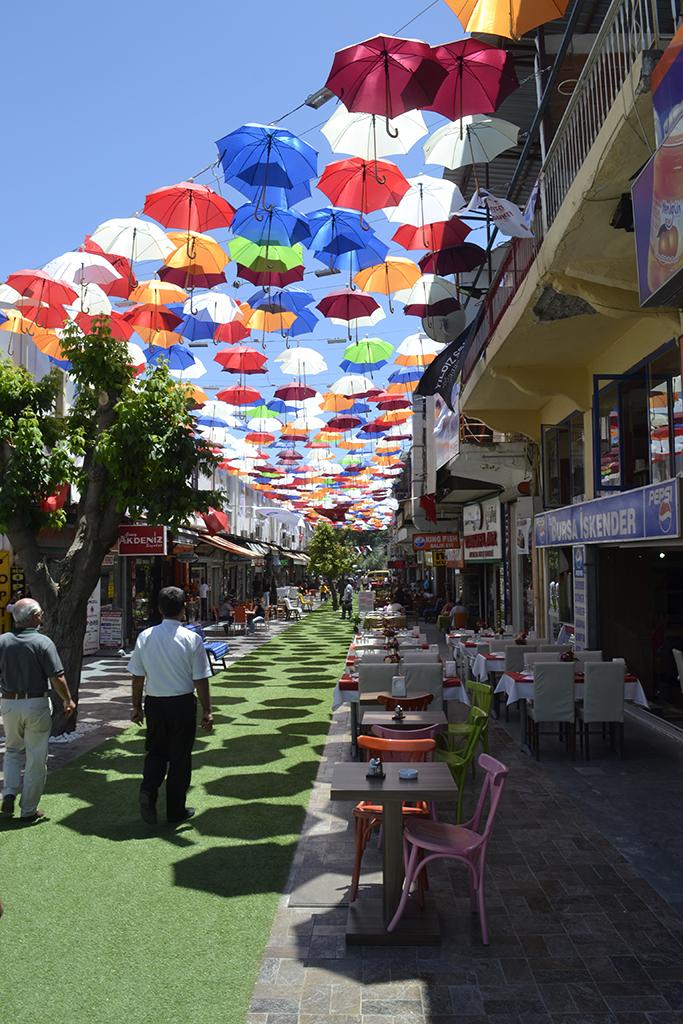 Улица зонтиков Анталия