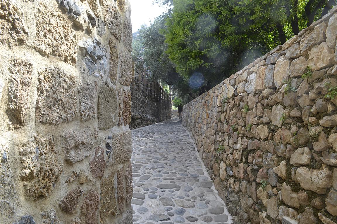 Улицы крепости