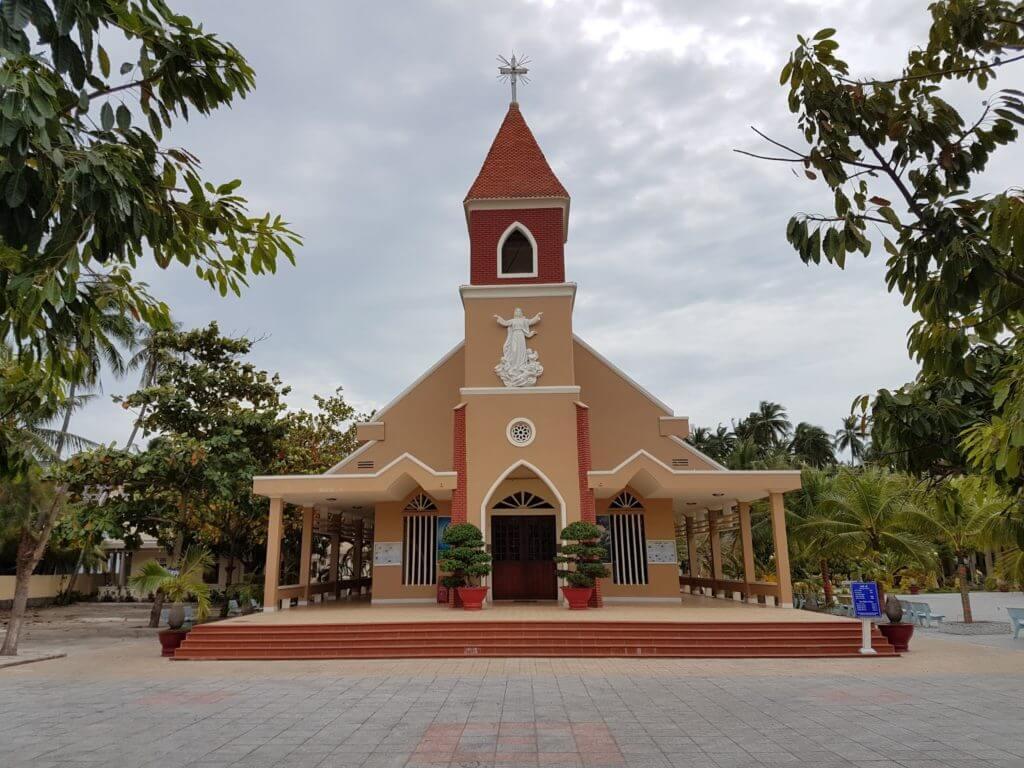 Католическая церковь. Муйне. Вьетнам.