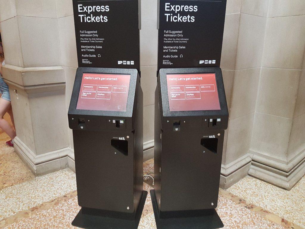 Терминалы для покупки билетов