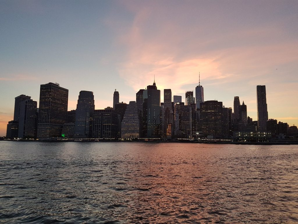 Вид на Манхэттен из Бруклина