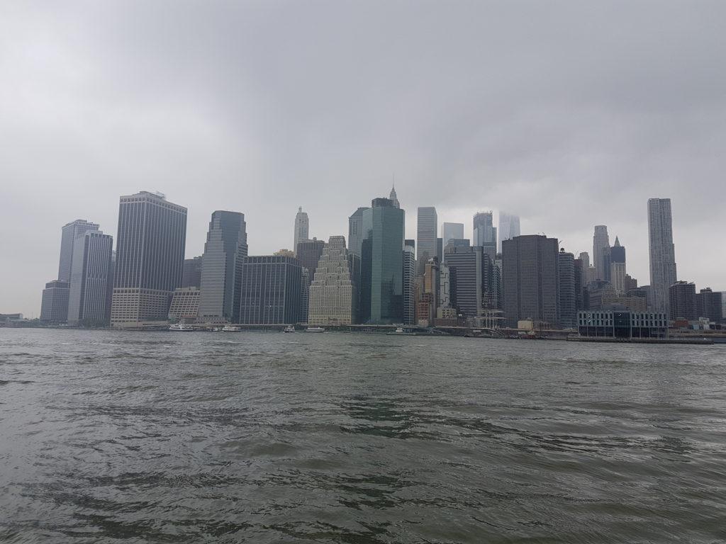 Туман в Нью-Йорке
