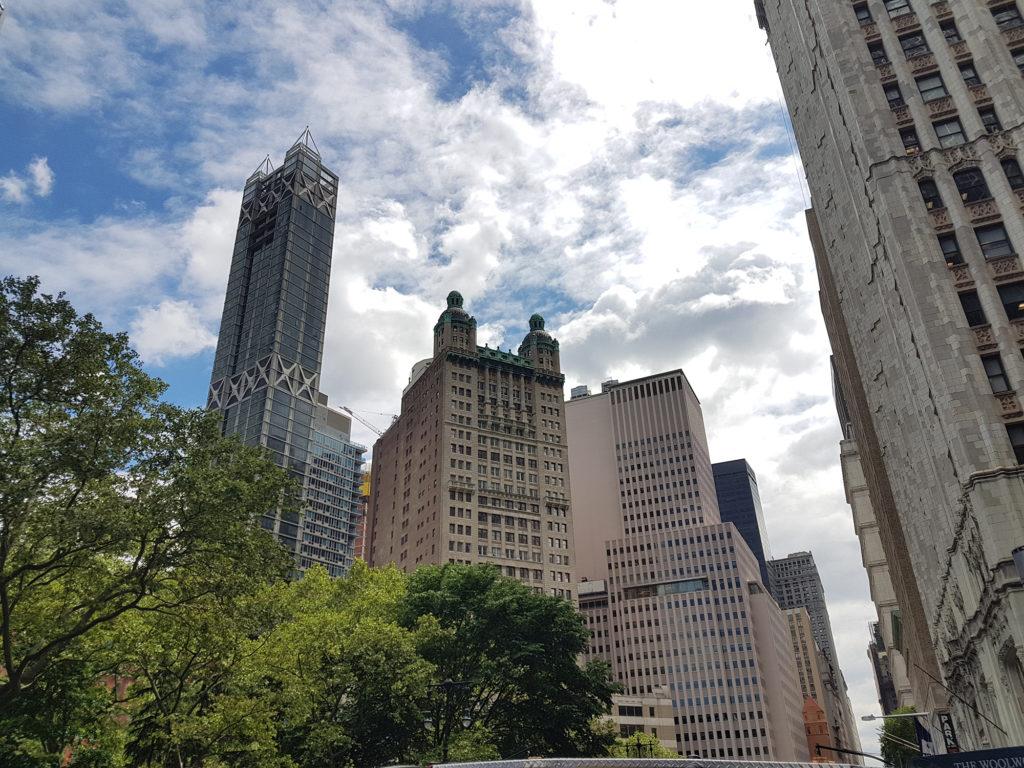 Башни за Парком Сити-Холл