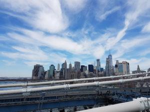 Незабываемый вид с Бруклинского моста.