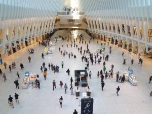 Одно из зданий Всемирного торгового центра