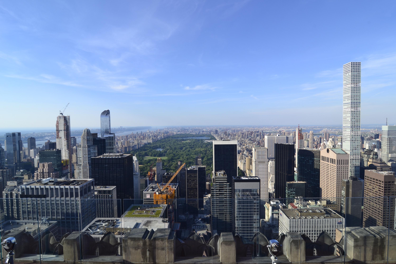 Вид на Центральный парк