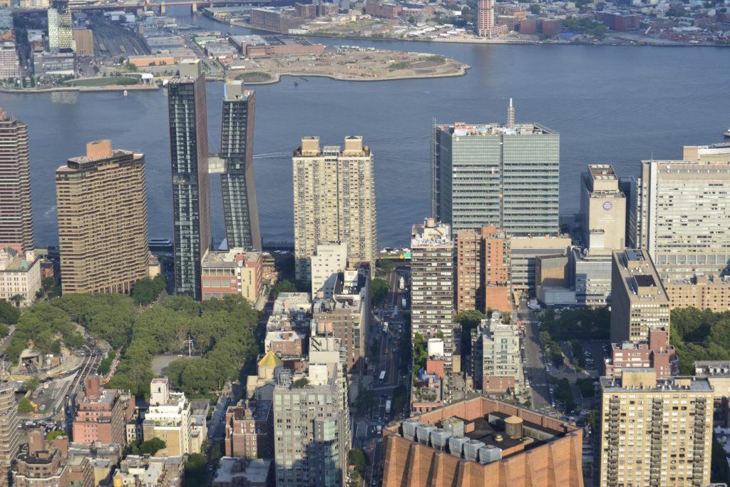 Разнообразная архитектура Нью-Йорка