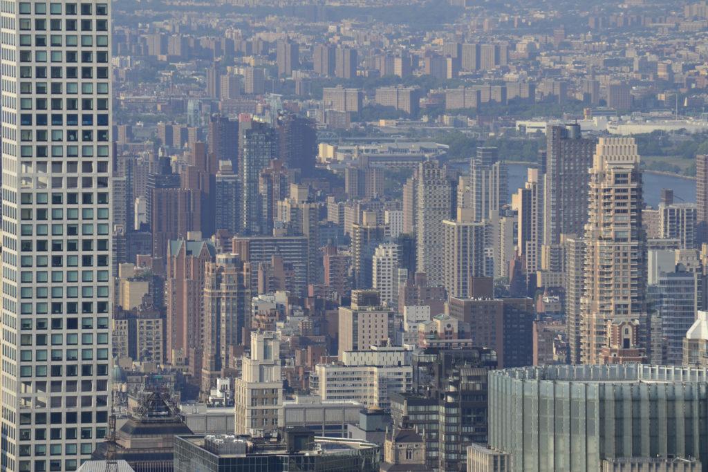 Вид на северо-восточную часть города.