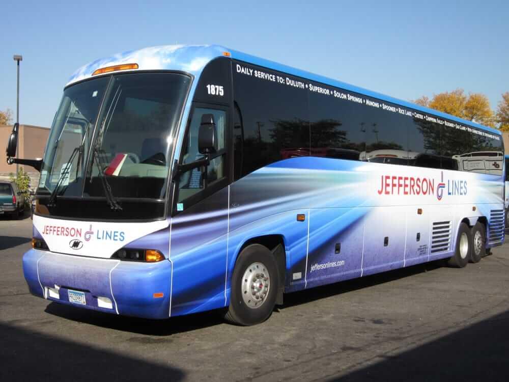 Автобус Jefferson Lines