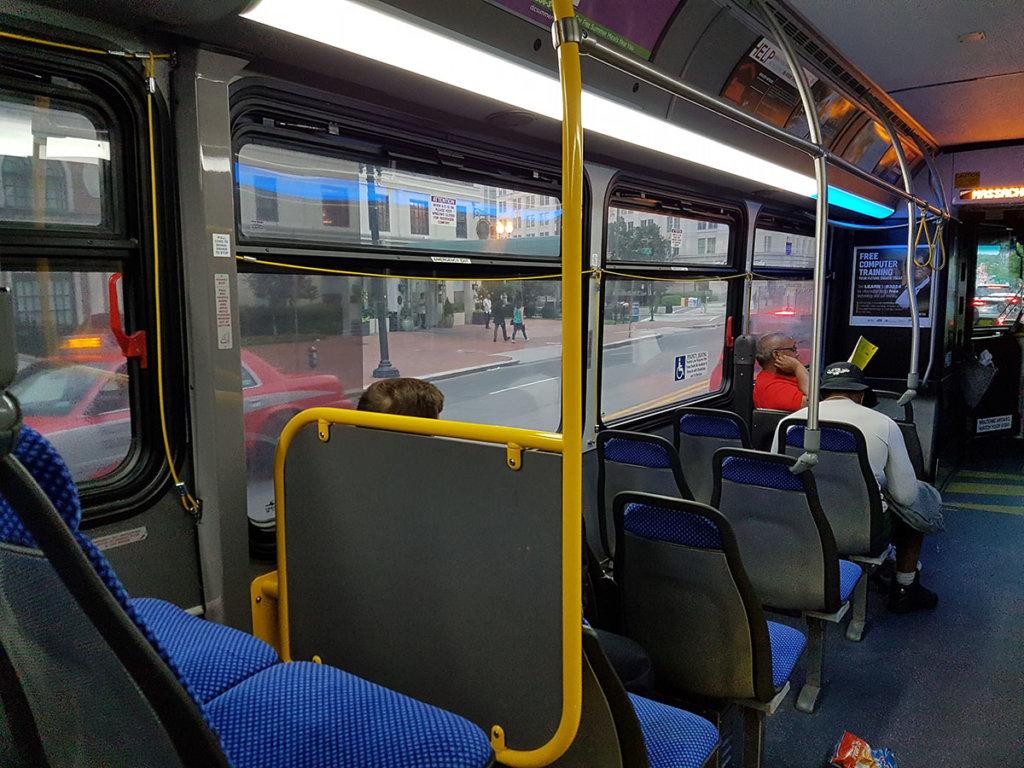 Автобус в Вашингтоне