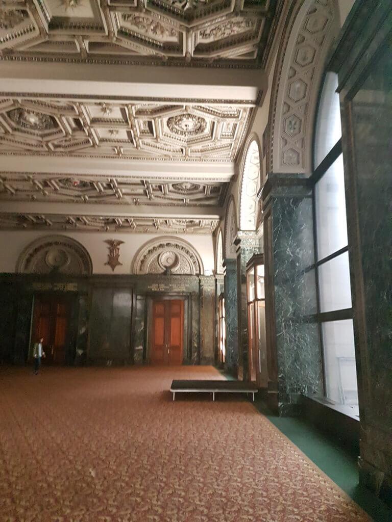 Культурный центр внутри