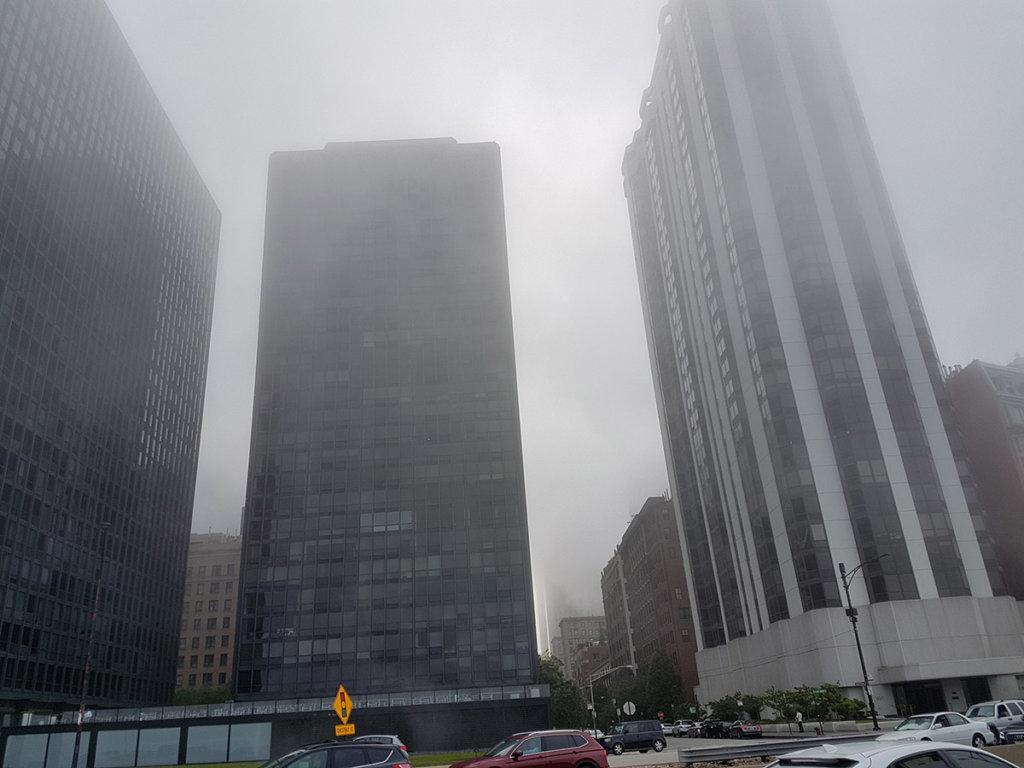 Туман в Чикаго