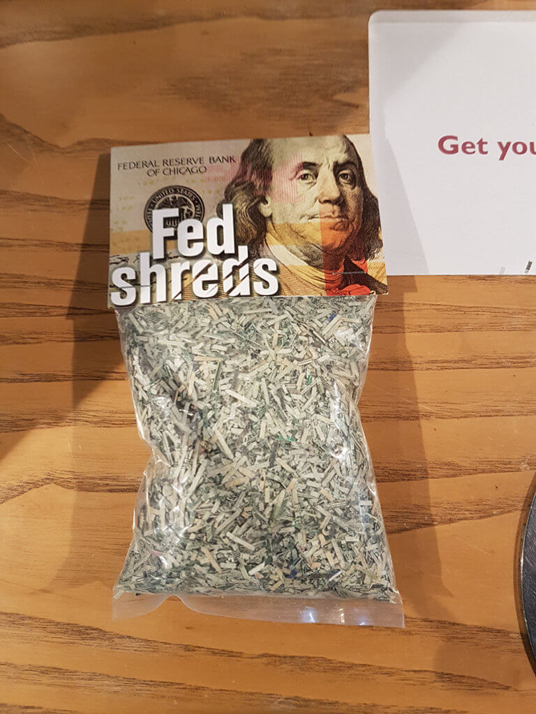 Конфискованные и уничтоженные деньги