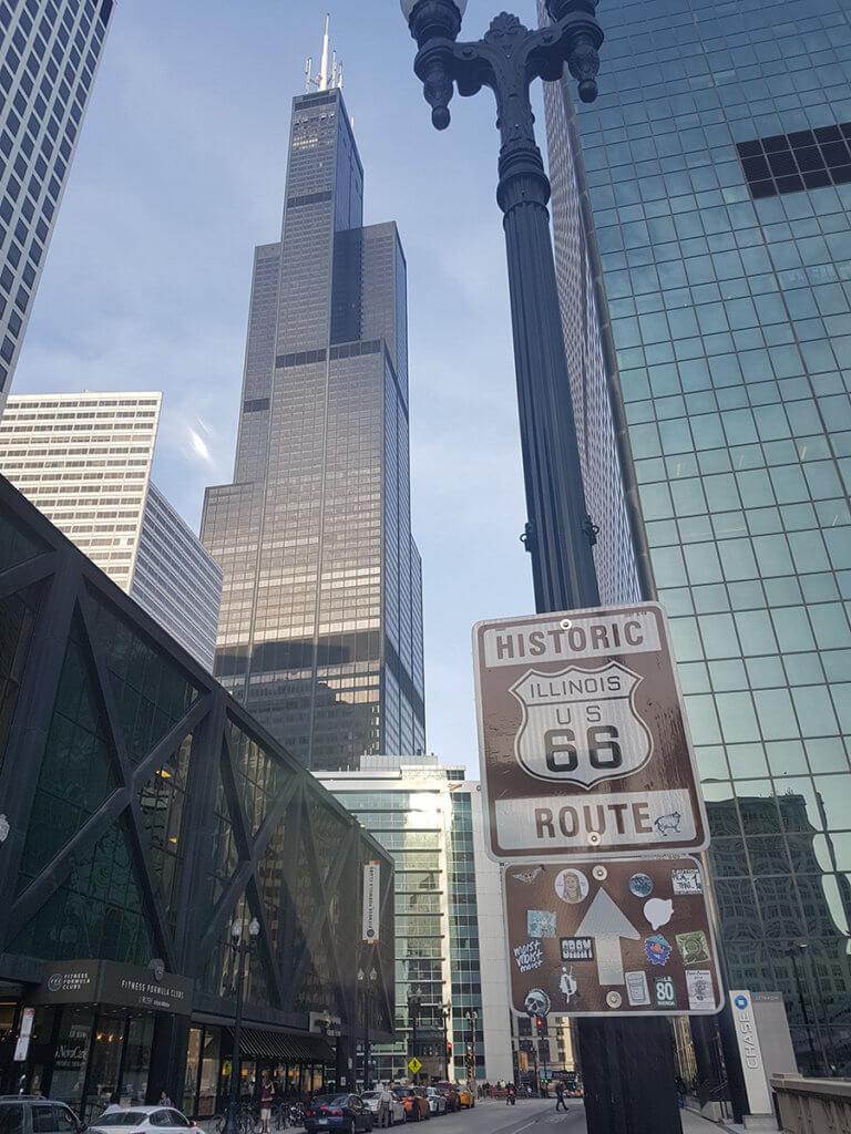 Шоссе 66 в Чикаго