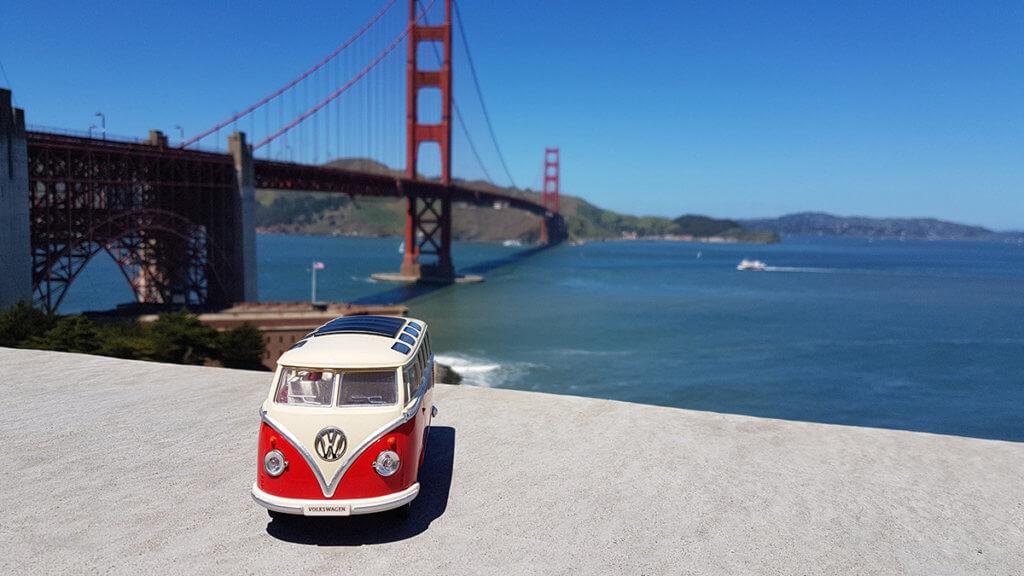 Сан-Франциско. Мост Золотые ворота.
