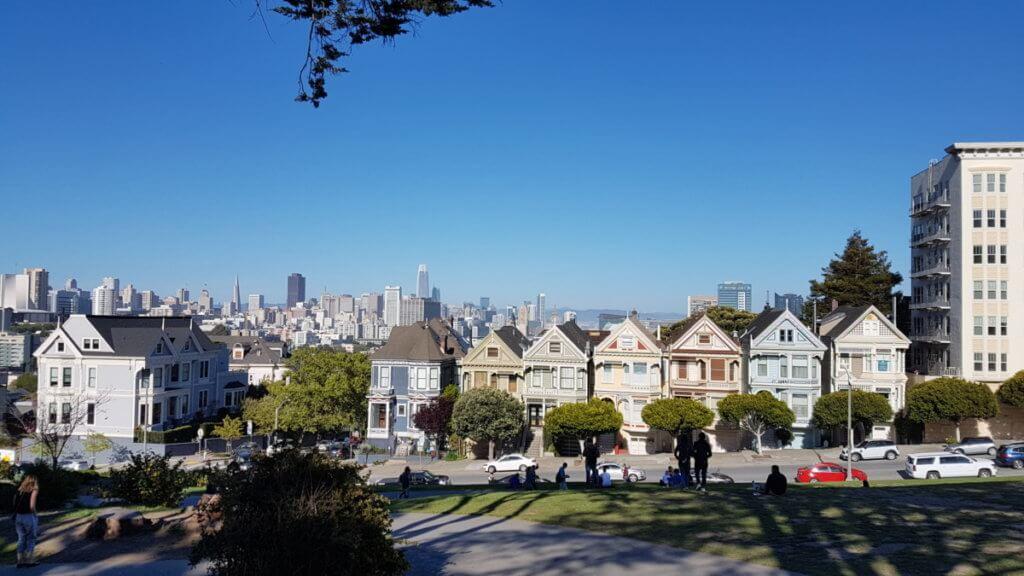 Викторианские дома. Сан-Франциско