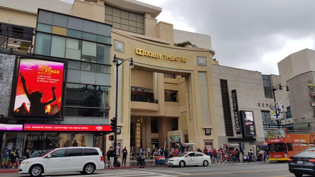 "Dolby Theatre. Здесь вручают ""Оскар"""