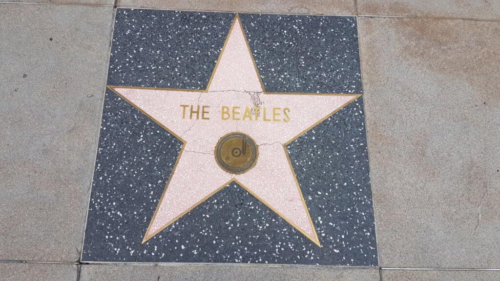 Звезда группы The Beatles