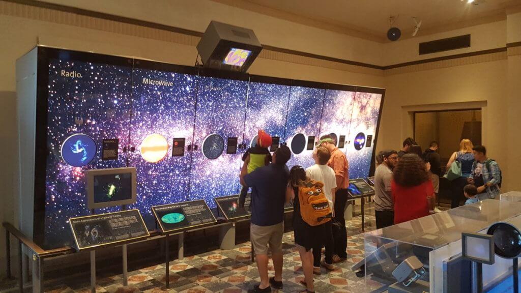 Выставка на Обсерватории Гриффит