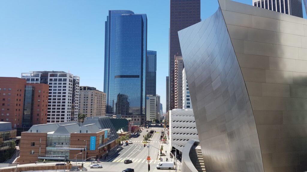 Вид с крыши Концертного зала имени Уолта Диснея