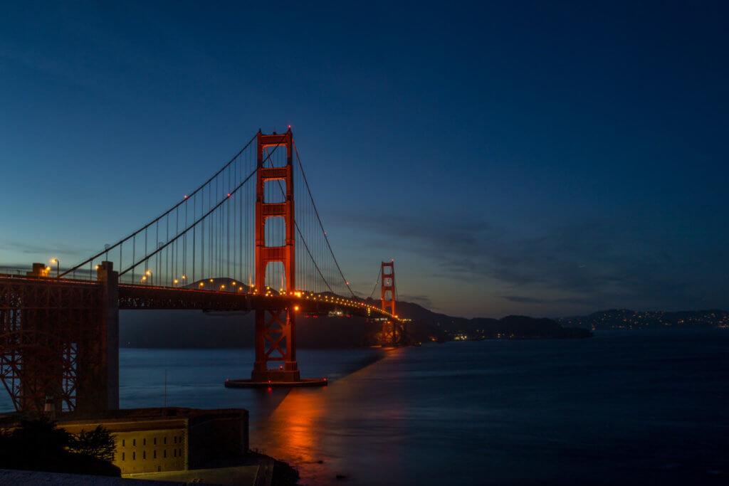 Мост Золотые Ворота. Сан-Франциско