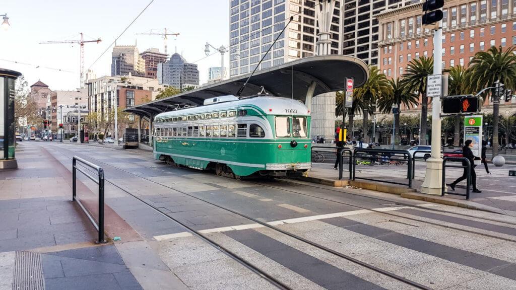 Общественный транспорт в Сан-Франциско
