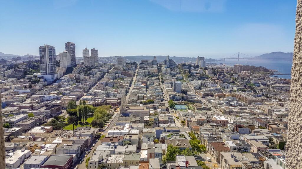 Жилые кварталы Сан-Франциско
